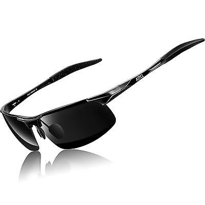 318bdaf253 ATTCL New Fashion Driving Polarized Sunglasses for Men Unbreakable-metal  Frame