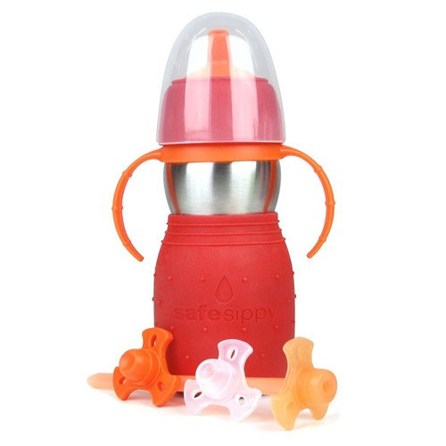 Kid Basix The Safe Sippy 2 Toddler Cup - Red
