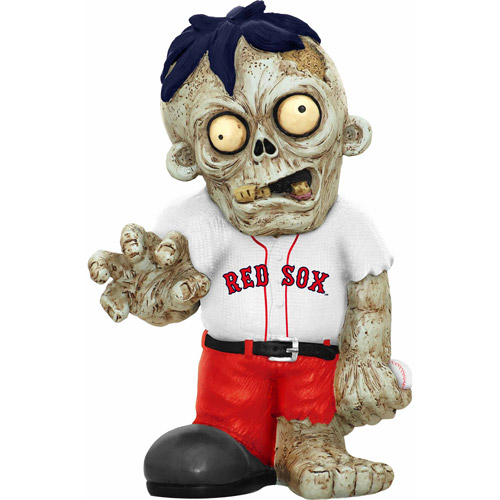 Forever Collectibles MLB Resin Zombie Figurine, Boston Red Sox