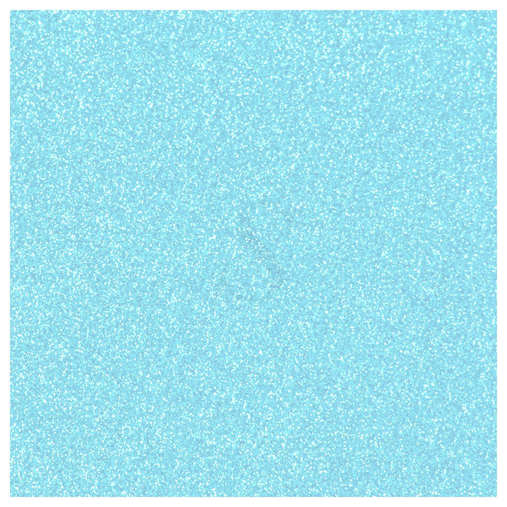 Oracal Permanent Glitter Frosted Vinyl - Ice Blue
