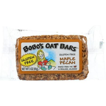 - Bobo's Oat Bars Gluten Free Maple Pecan Bar, 3 Oz (Pack Of 12)