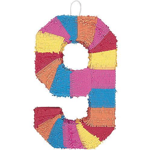 Number 9 Pinata