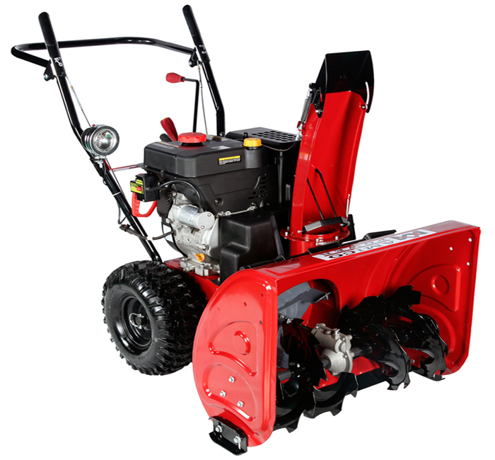 AST 28 inch 265cc Two-Stage Electric Start Gas Snow Blower Snow Thrower by Amico Power Corp