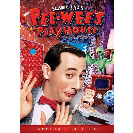 Pee Wees Playhouse  Seasons 3  4   5  Special Edition   Full Frame