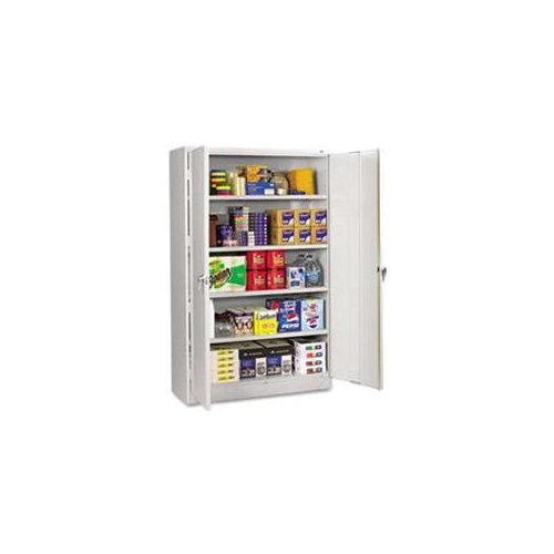 Tennsco Light Gray Jumbo Storage Cabinet - 48  X 18  X 78  -  sc 1 st  Walmart & Tennsco Light Gray Jumbo Storage Cabinet - 48