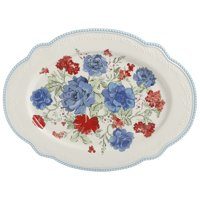 The Pioneer Woman Classic Charm 18-Inch Oval Platter