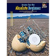 Alfred 00-22615 Drums for the Absolute Beginner - Music Book