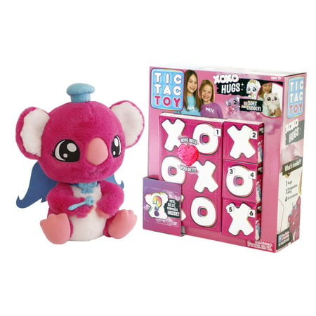 Tic Tac Toy XOXO Hugs Plush, Pink