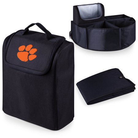 Clemson Tigers Trunk Boss Organizer with Cooler - Black - No Size