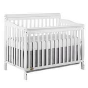 Dream On Me Ashton 5-in-1 Convertible Crib, White
