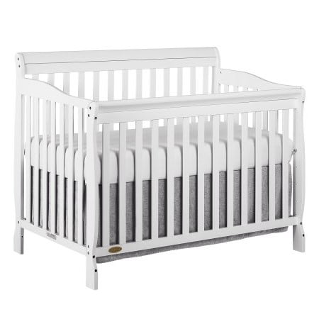 1 Iron Crib - Dream On Me Ashton 5-in-1 Convertible Crib, White