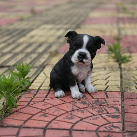 Boston Terrier Statues - BOSTON TERRIER PUPPY STATUE