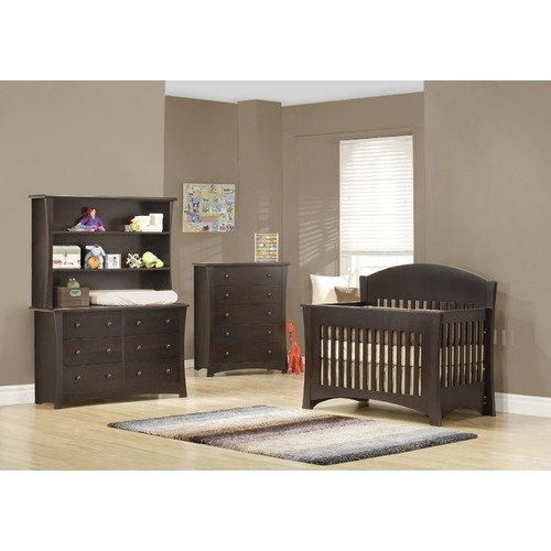 Mother Hubbard's Cupboard Sweet Bebe Convertible Crib Set