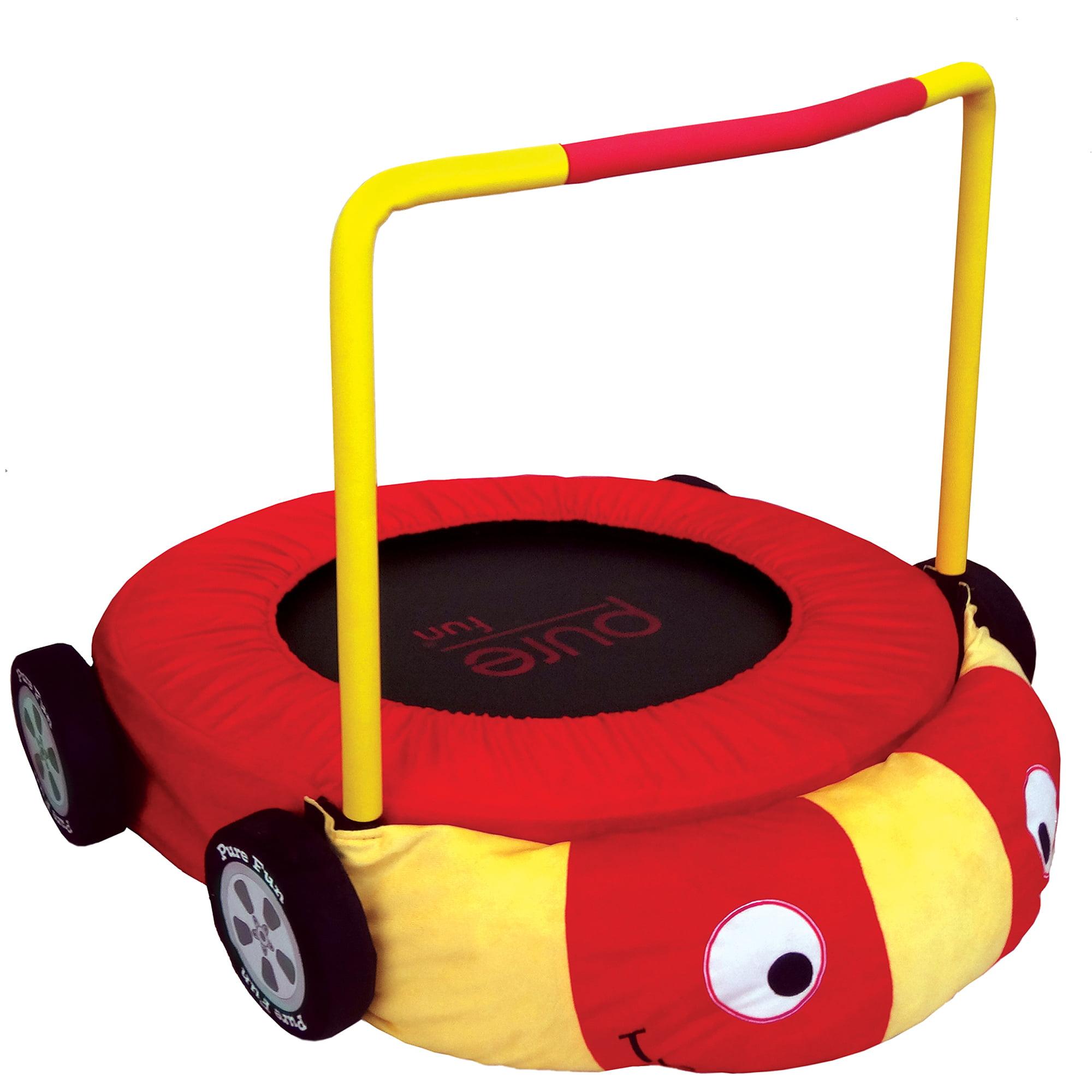 Pure Fun Race Car Jumper Trampoline