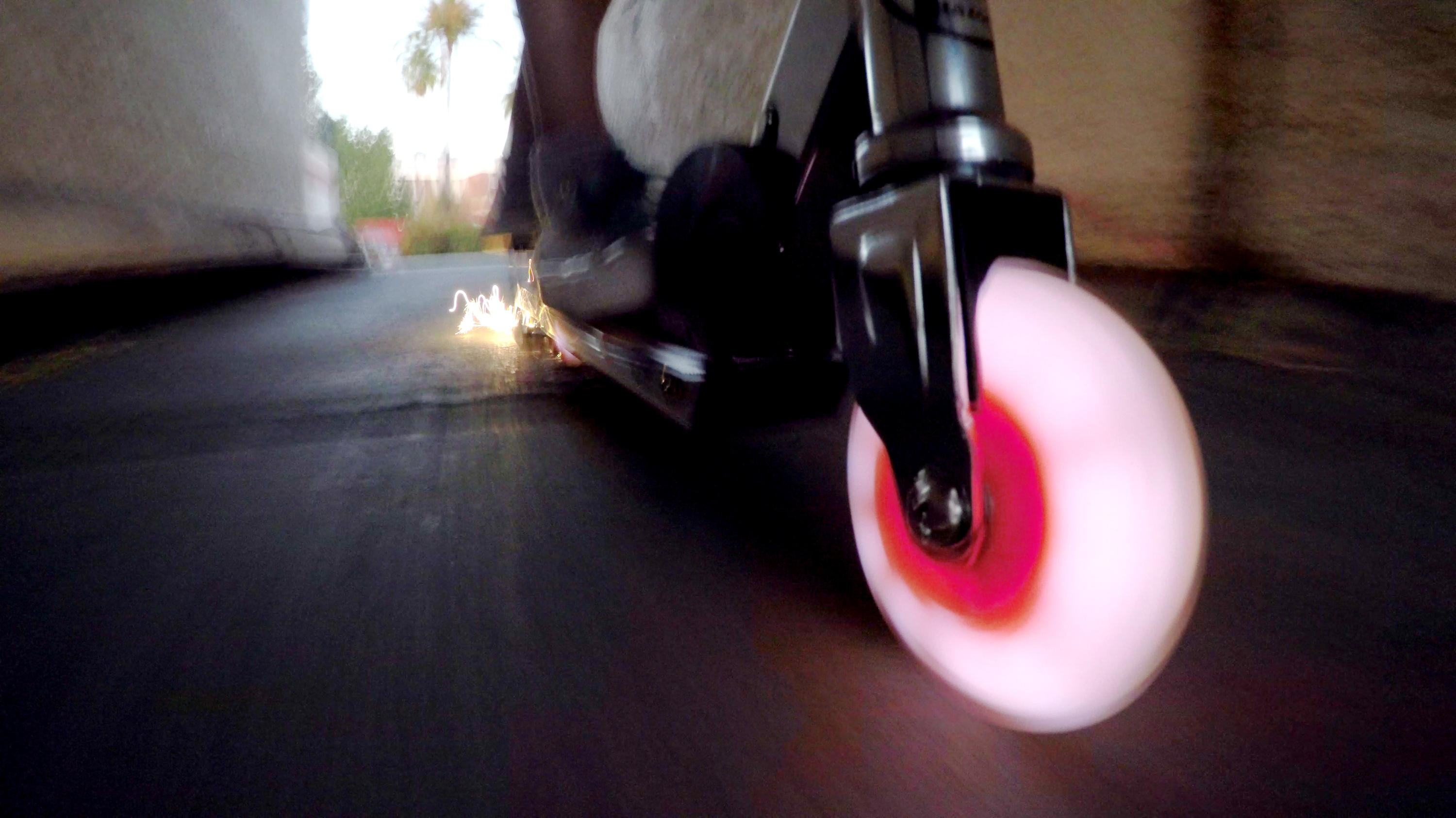 Razor Spark Ultra Kick Scooter with Super Bright LED Wheels