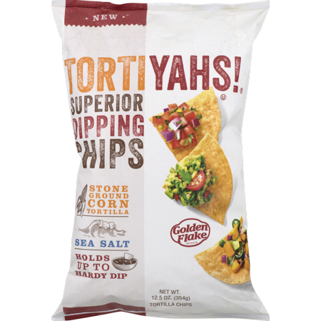 Tortiyahs! Superior Dipping Chips with Sea Salt 12.5 oz. (4