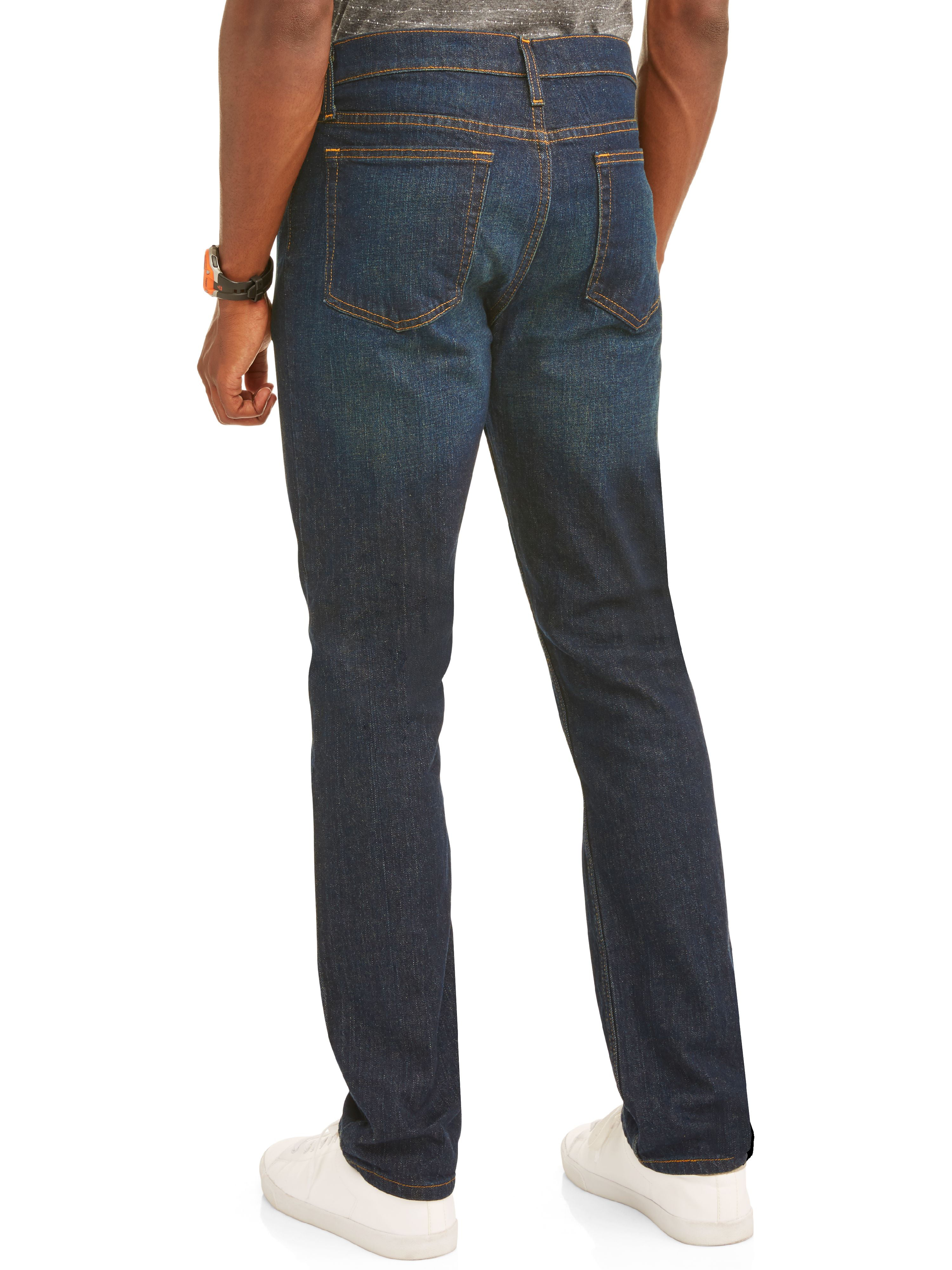 Essentials Boys Straight-Fit Stretch Jean