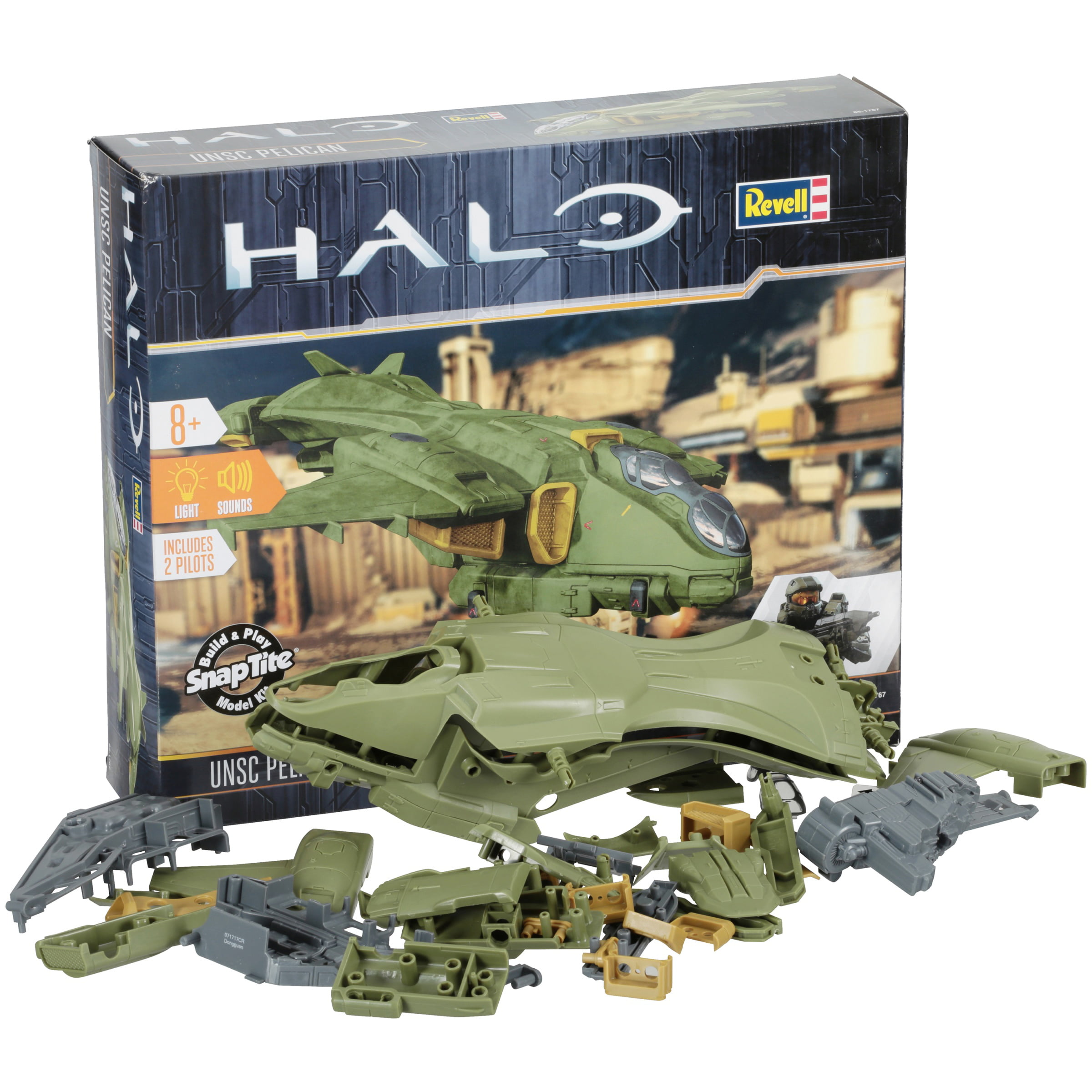 Revell Halo UNSC Pelican Snap-Together Action Model Kit by Revell Inc