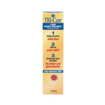 Central Garden   Pet 100502415 4 Oz  Tri Care 3 Way Wound Treatment