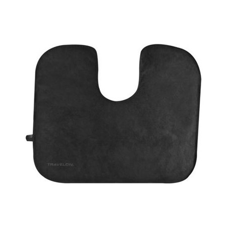 Travelon Self-Inflating Seat Cushion Black OSFA ()