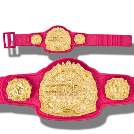 TNA Jakks Global Heavyweight Championship Action Figure Belt