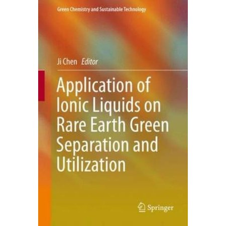 Application of Ionic Liquids on Rare Earth Green Separation and Utilization (2016) - image 1 de 1