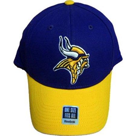 NFL Reebok Minnesota Vikings   34 2 Tone Series  34  Cap Adult Flex ... 0f9e7ff42