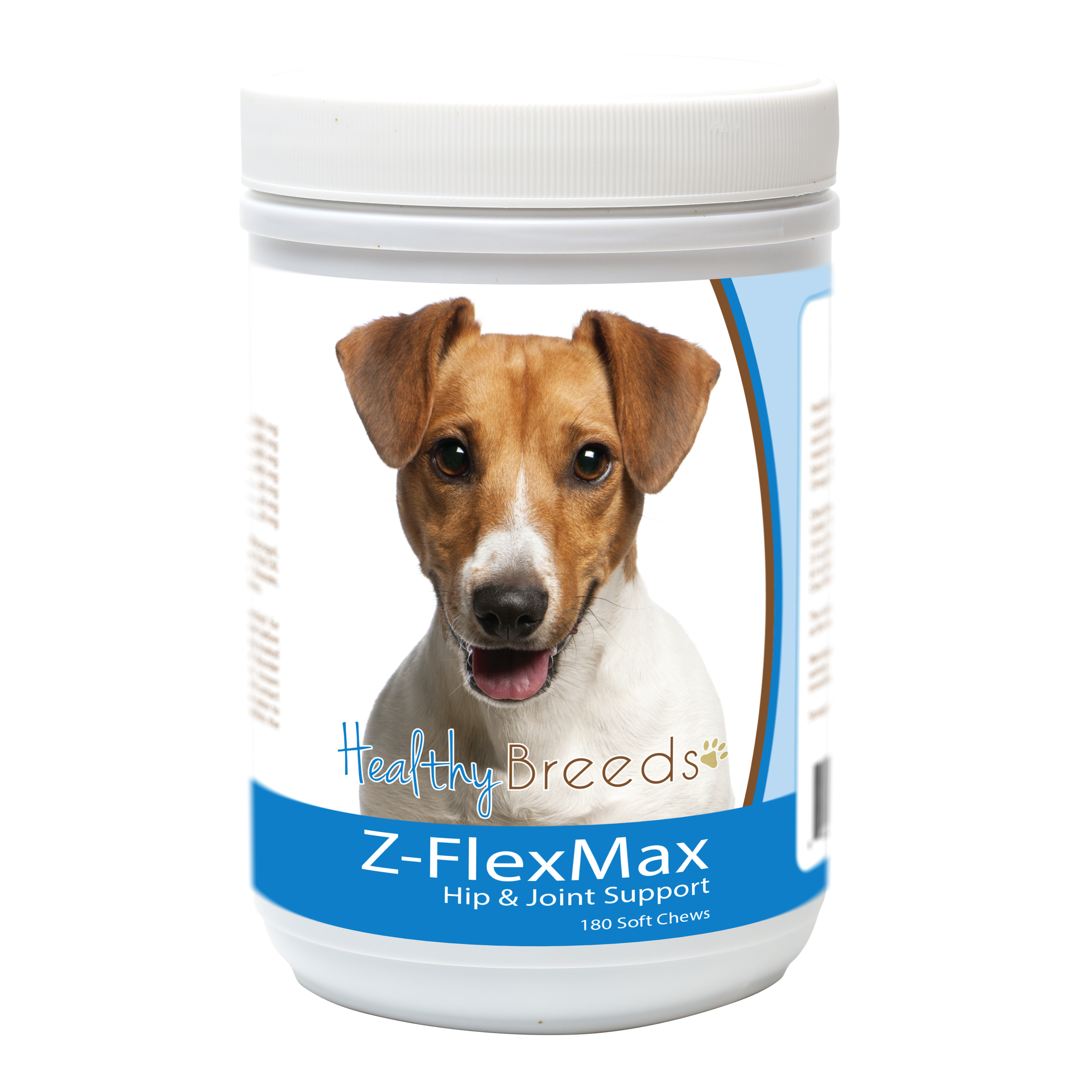 Healthy Breeds Jack Russell Terrier Z-Flex Max Dog Hip and Joint Support 180 Count