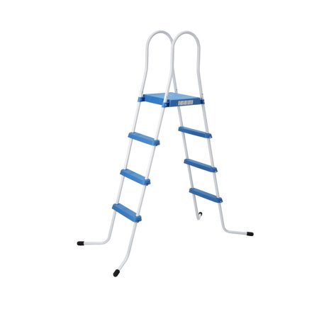 72 4 three step above ground swimming pool deck ladder - Above ground pool platform ...