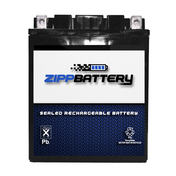 YTX14AH-BS ATV Battery for Kawasaki 300cc KEF300-B Lakota Sport 2002