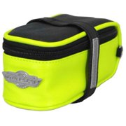 Moto Racer Seat Saddle Up Pouch, Black/Green