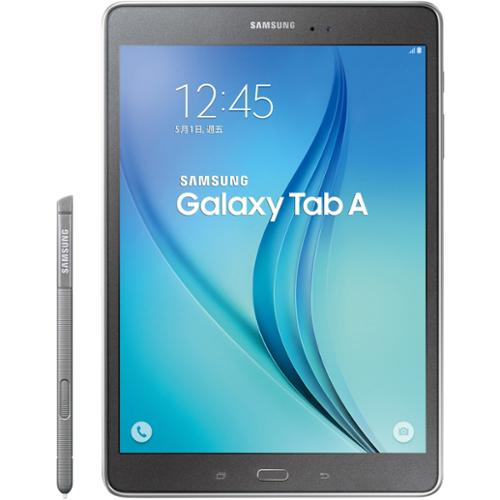 "Samsung Galaxy Tab A Sm-p550 16 Gb Tablet - 9.7"" - Plane To Line [pls] Switching - Wireless Lan - Qualcomm Apq8016 Quad-core [4 Core] 1.20 Ghz - Smoky Titanium - 1.50 Gb Ram - Android (sm-p550nzaaxar)"