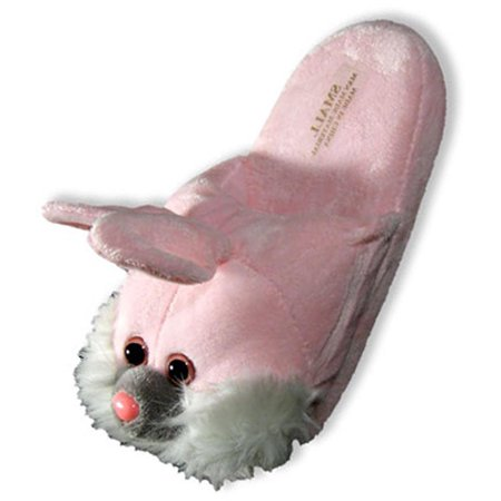 Tru-Fit - Womens Monkey Slippers PINK BUNNY / S5-6