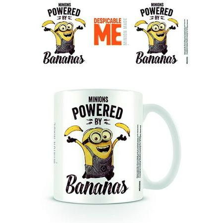 Minions - Ceramic Coffee Mug / Cup (Powered By Bananas)