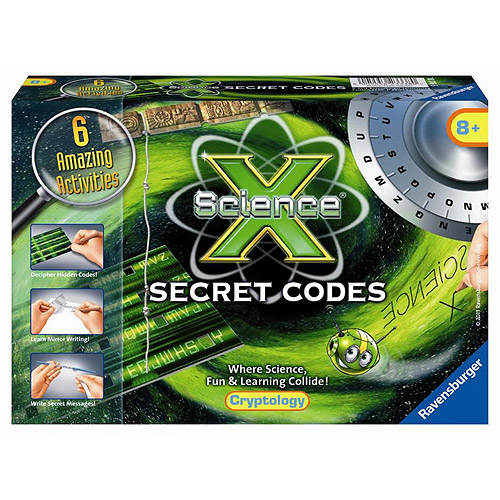 Ravensburger Science X Kit, Secret Codes