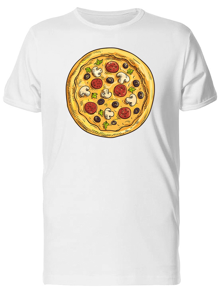 Image by Shutterstock In Pizza We Crust Graphic Tee