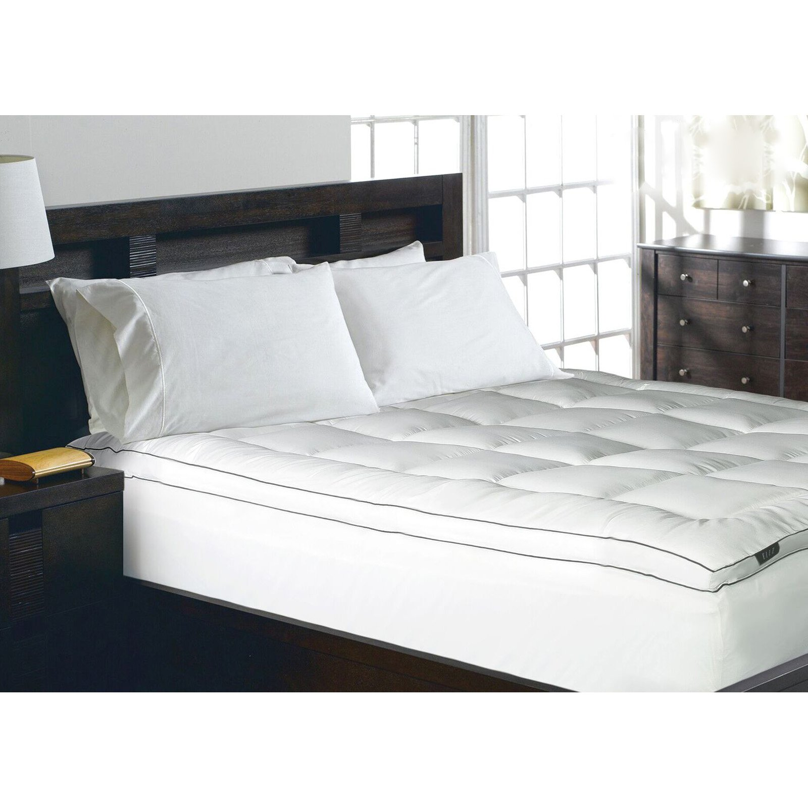 Elle Home 1200 Thread Count Mattress Topper