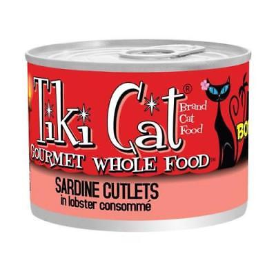 5PK Tiki Cat Sardine Cutlets in Lobster Consomme Cat Food