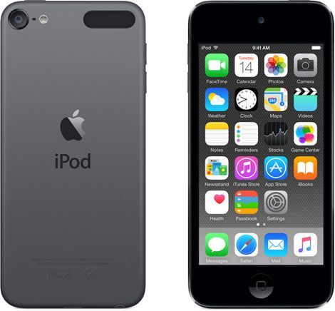 Apple iPod Touch 6th Generation 16GB Space Gray -Like New, No Retail Packaging