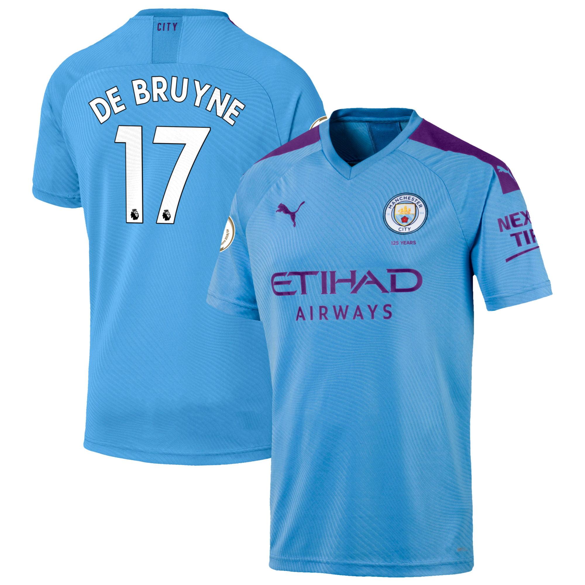 PUMA - Kevin De Bruyne Manchester City Puma 2019/20 Home ...