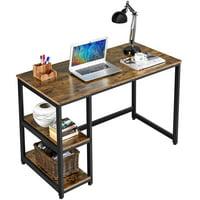 Deals on SmileMart Industrial Computer Desk Workstation