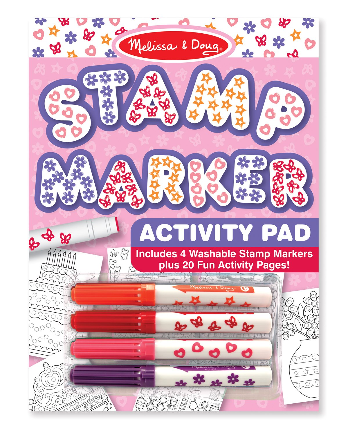 Melissa Doug Stamp Marker Activity Pad