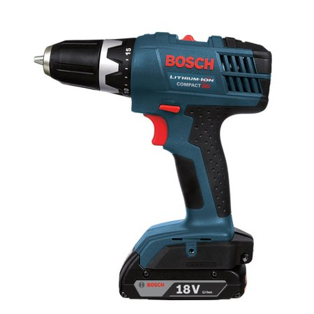 Factory-Reconditioned Bosch DDBB180-02-RT 18V Cordless Lithium-Ion 1/2 in. Compact Drill Driver (Refurbished)