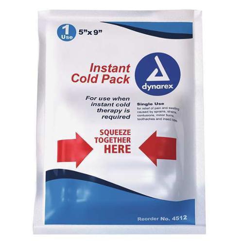 """5"""" Instant Cold Pack, Dynarex, 4512"""