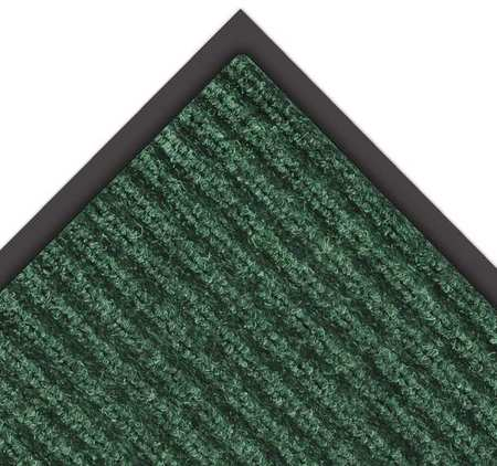 NOTRAX 109S0035GN Carpeted Entrance Mat, Hunter Grn, 3x5 ft