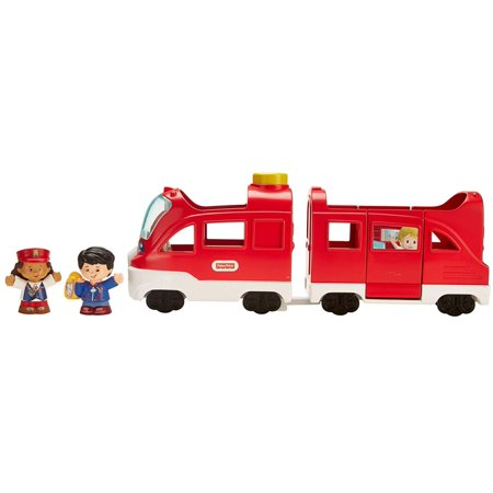 Fisher-Price Little People Vehicle Train, Large, Press conductor's seat for fun sounds, songs & phrases By (Fisher Price Little People Fun Sounds Farm)