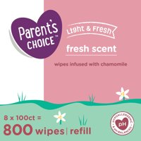 Parent's Choice Fresh Scent Baby Wipes (Choose Your Count)