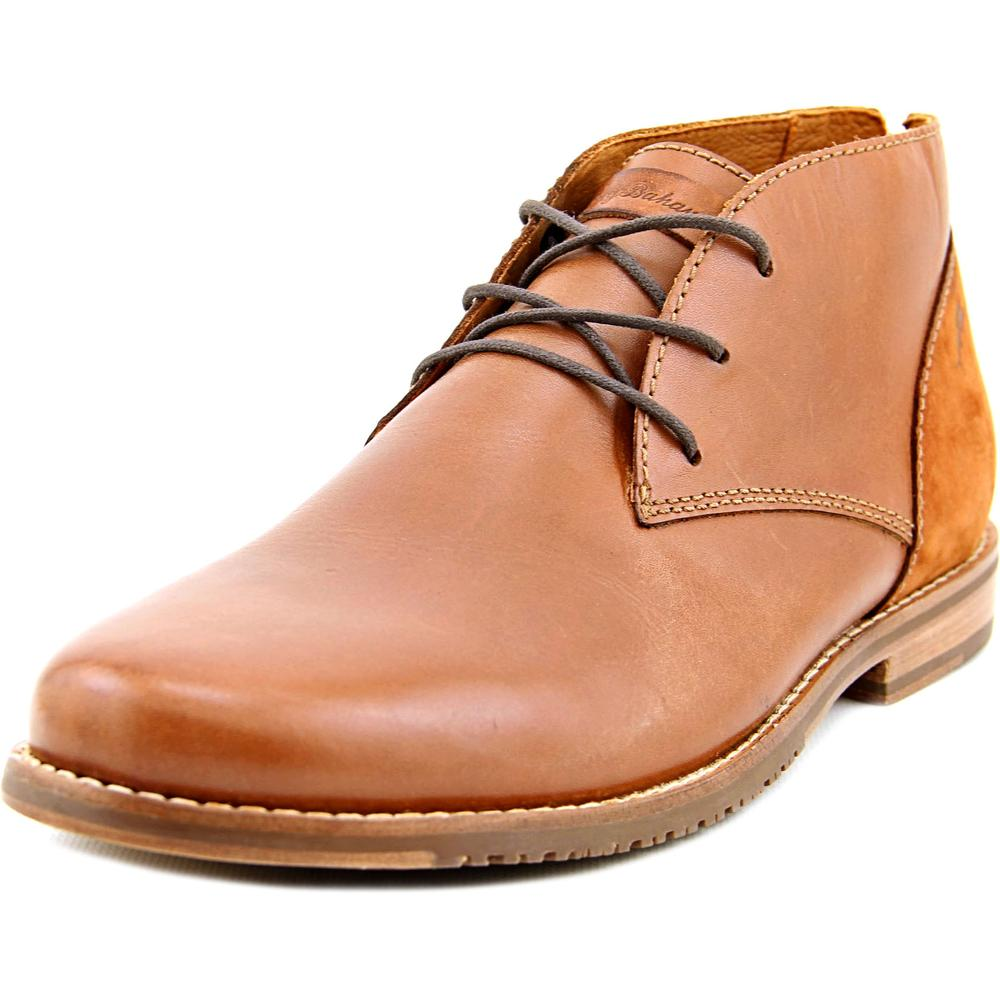 Tommy Bahama Fane Men Round Toe Leather Brown Chukka Boot by Tommy Bahama