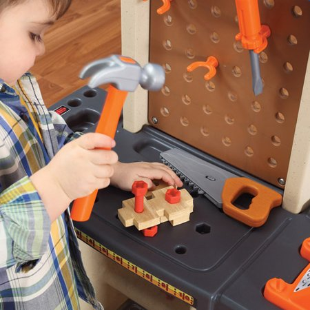 Step  Handy Helpers Workbench Building Set