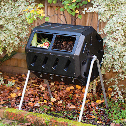 Forest City Yimby Compost Tumbler with Two Chambers
